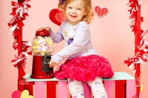 Valentines Day Kids Photography